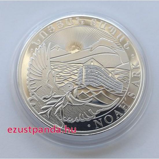 Noé bárkája 2021 1 uncia ezüst pénzérme