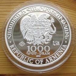 Noé bárkája 2013 5 uncia ezüst pénzérme