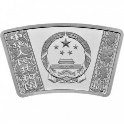 Lunar Disznó éve 30 gramm 10 yuan proof ezüst érme