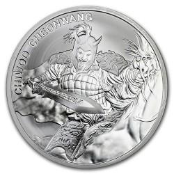 Chiwoo Cheonwang 2018 1 uncia ezüst pénzérme Dél-Korea