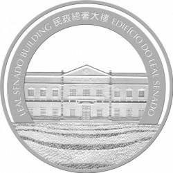 Makaó Lunar Kutya 2018 1 uncia proof ezüst pénzérme