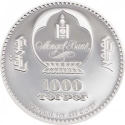 Mahatma Gandhi 2020 1 uncia proof ezüst pénzérme