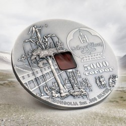 Karakorum 800 éves 2020 2 uncia liechtensteini ezüst pénzérme - CSAK 800 PÉLDÁNY!