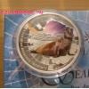 Antarktisz - Elefántfóka 2015 1 uncia proof ezüst pénzérme