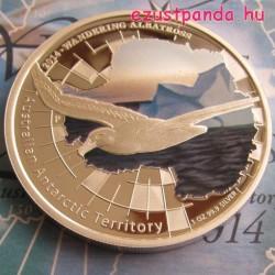 Antarktisz - Albatrosz 2014 1 uncia proof ezüst pénzérme