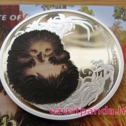 Bush Babies2 - Hangyászsün 2013 1/2 uncia színes ezüst pénzérme