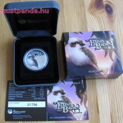 Bush Babies2 - Kookaburra fióka 2012 1/2 uncia színes ezüst pénzérme