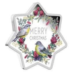 Karácsony 2020 1 uncia ausztrál proof ezüst pénzérme