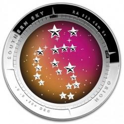 Orion csillagkép ausztrál ezüst pénzérme