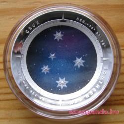 Dél Keresztje (Crux) ausztrál ezüst pénzérme