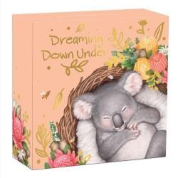 Álmodó állatkák - Koala 2021 1/2 uncia színes ausztrál ezüst pénzérme