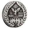 A 2. világháború vége 75. évforduló - ausztrál 2020 2 uncia antikolt ezüst pénzérme