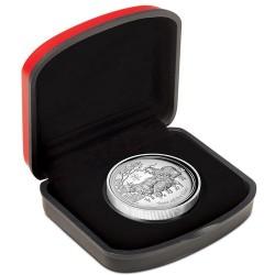 Lunar2 Kecske éve 2015 1 uncia high relief ezüst pénzérme