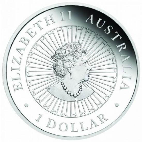 """Opál """"Bivaly éve"""" 2021 1 uncia proof ezüst pénzérme"""