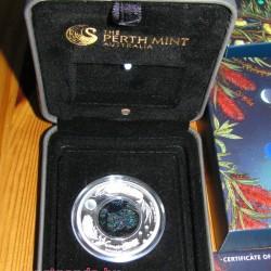 Opál sorozat - Wombat 2012 1 uncia proof ezüst pénzérme