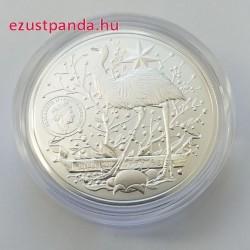 Ausztrália címere 2021 1 uncia ausztrál ezüst pénzérme