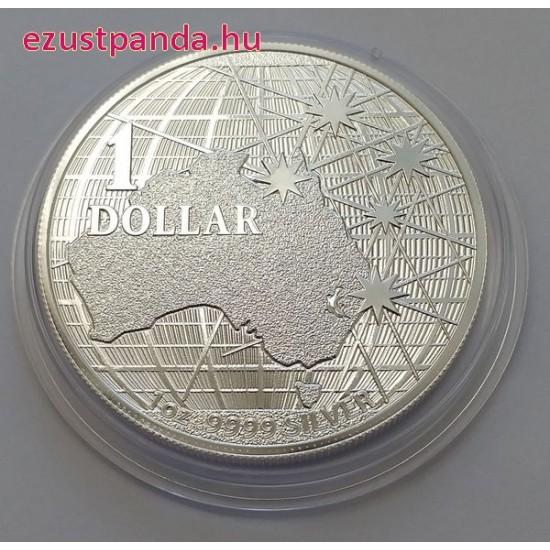 A déli égbolt alatt 2021 1 uncia ausztrál ezüst pénzérme