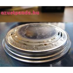 A Föld 2018 ausztrál proof ezüst pénzérme, domború
