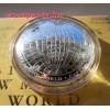 A világ új térképe 1812 ausztrál proof ezüst pénzérme - domború