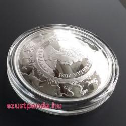 Bivaly éve 2021 1 uncia ausztrál proof ezüst pénzérme (RAM), homorú !