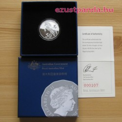 Lunar Ló éve 2014 RAM 14-oldalú ezüst pénzérme