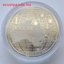 A déli égbolt alatt 2020 1 uncia ausztrál ezüst pénzérme
