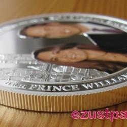 Királyi esküvő 2011 1 uncia proof ezüst pénzérme
