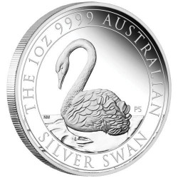 Hattyú 2021 1 uncia proof ezüst pénzérme - csak 2.500 példány