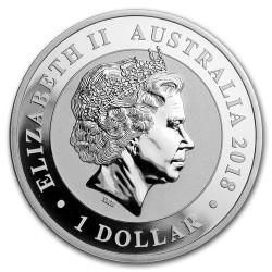 Hattyú 2018 1 uncia ezüst pénzérme