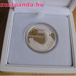 Esküvő 2020 1 uncia proof ezüst pénzérme