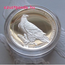 Ékfarkú sas 2016 1 uncia high relief ezüst pénzérme