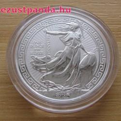 Britannia 2018 brit 1 uncia 2 GBP ezüst pénzérme