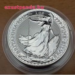 Britannia 2019 brit 1 uncia 2 GBP ezüst pénzérme