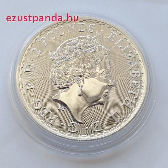 Britannia 2021 brit 1 uncia 2 GBP ezüst pénzérme