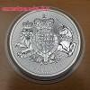 Angol királyi címer 2019 brit 1 uncia 2 GBP ezüst pénzérme