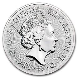 Brit látványosságok: Buckingham Palace 2018 1 uncia 2 GBP ezüst pénzérme