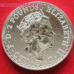 Kakas éve 2017 brit 1 uncia ezüst pénzérme