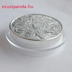 A királynő címerállatai 2021 2 uncia 5 GBP ezüst pénzérme