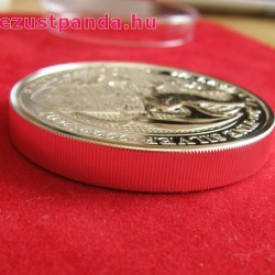 A királynő címerállatai - Wales-i Vörös Sárkány 2017 2 uncia 5 GBP ezüst pénzérme