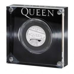 Queen együttes 2020 1 font proof ezüst pénzérme
