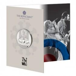 The Who együttes 2021 5 font réz-nikkel pénzérme