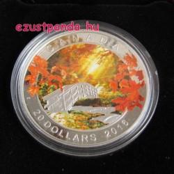 Őszi nyugalom 2016 1 uncia kanadai proof ezüst pénzérme