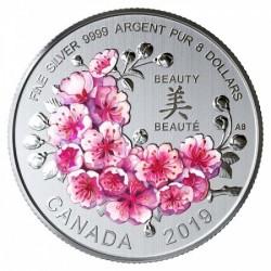 Cseresznyevirág 2019 8g ezüst pénzérme