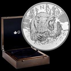 Grizzly 2019 0,5 kg proof ezüst pénzérme