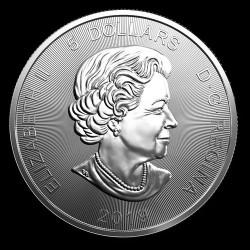 Grizzly medve 2019 1 uncia ezüst pénzérme