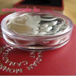 Lunar Lotus Majom 2016 1 uncia proof ezüst pénzérme