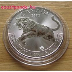 Puma / Cougar 2016 1 uncia ezüst pénzérme