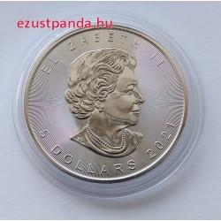 Maple Leaf (Juharlevél) 2021 1 uncia ezüst pénzérme - KÉSZLETRŐL KAPHATÓ!