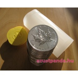 25x Maple Leaf (Juharlevél) 2020 1 uncia ezüst pénzérme (teljes tubus)