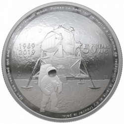 Holdraszállás 2019 Kanada proof ezüst pénzérme